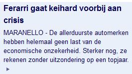 NU.nl: Ferarri
