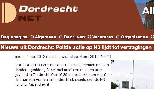Dordrecht lijdt
