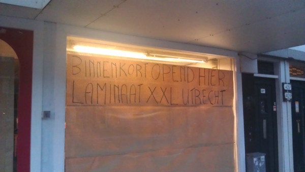 laminaat XXL opend