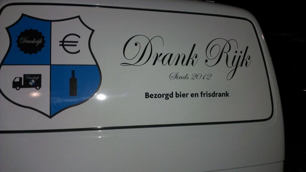 drank rijk bezorgd