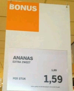 Ah: ananas