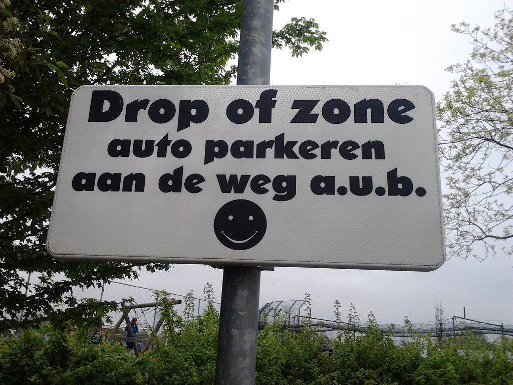drop of zone