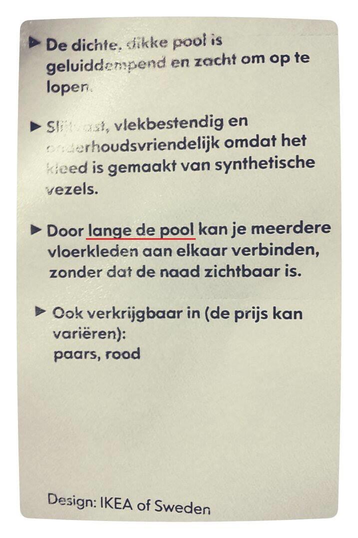 Lange de Pool