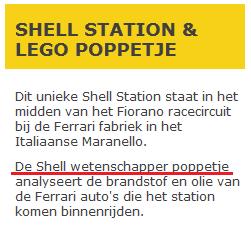 Shell: de poppetje